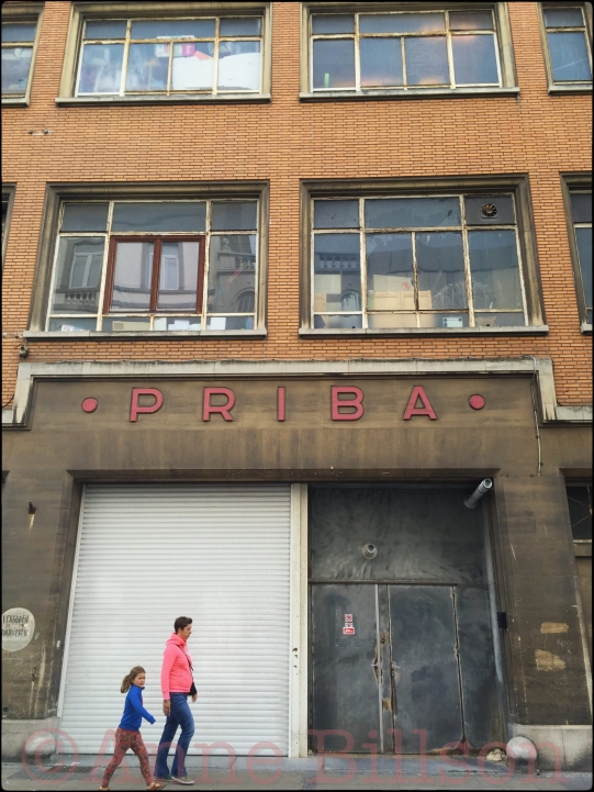 Priba: Kerkstraat, Oostende.