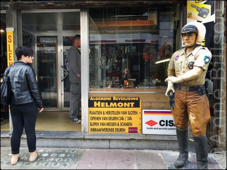 Algemene beveiliging: Sint-Paulusstraat, Oostende.