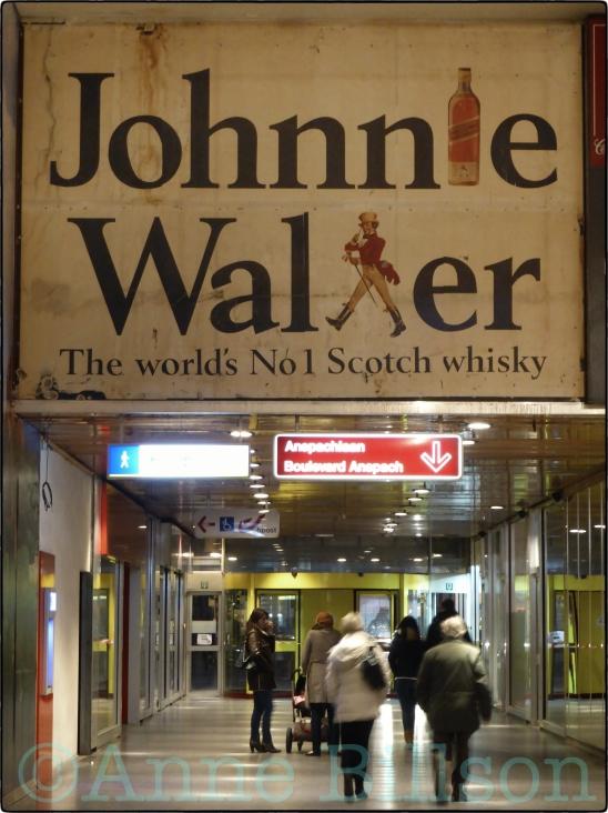 Johnnie Walker: Muntcentrum, Brussel.