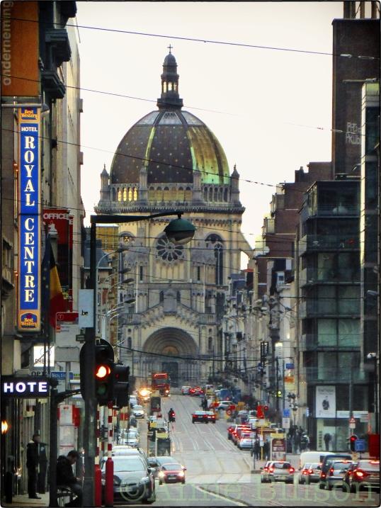 Royal Centre: Koningsstraat, Brussel.