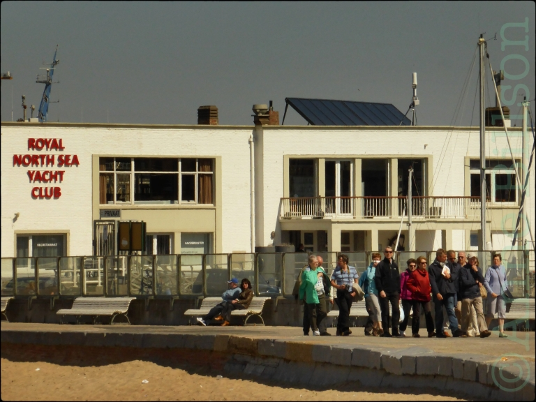 Royal North Sea Yacht Club: Montgomerykaai, Oostende.