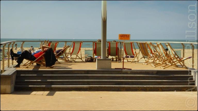 Dijkzetels: Albert I-promenade, Oostende.