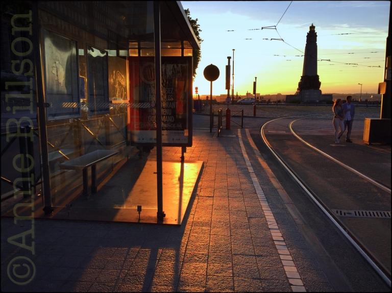 Tram experience: Poelaertplein, Brussel.
