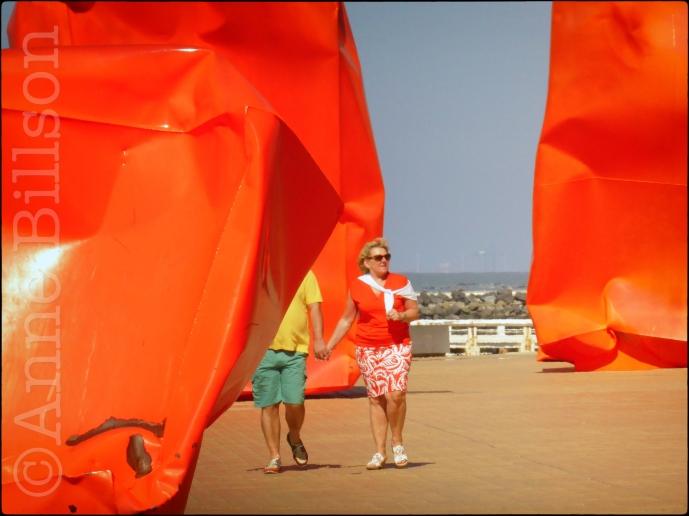 Rock Strangers (beeldhouwer: Arne Quinze): Zeeheldenplein, Oostende.