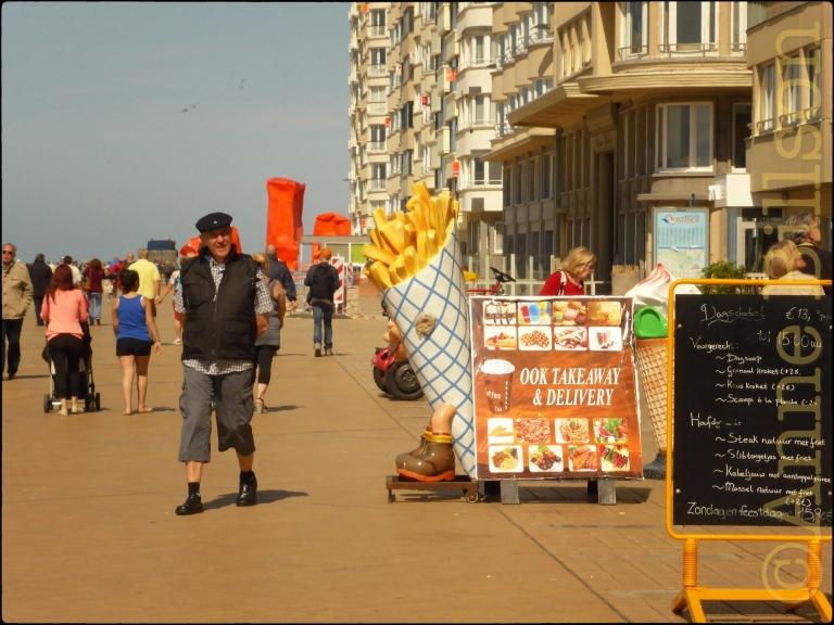 Ook takeaway: Albert I-promenade, Oostende.