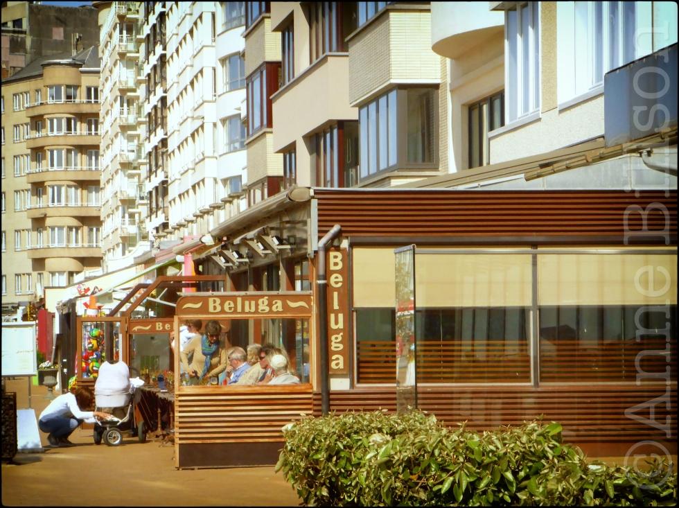 Beluga: Albert I-promenade, Oostende.