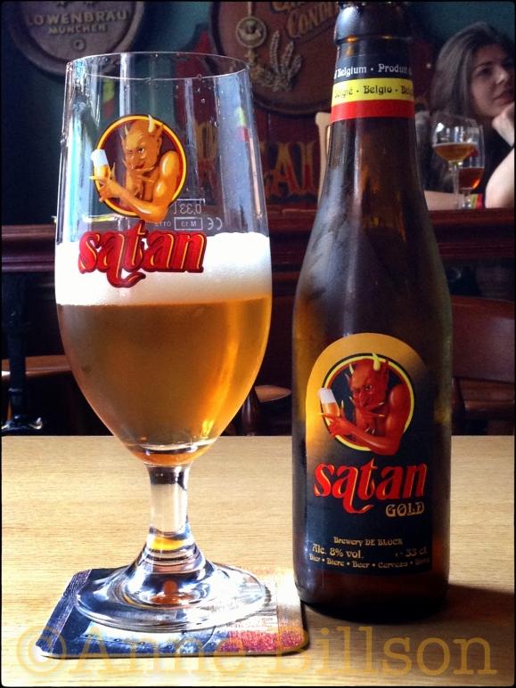 Satan Gold (8%): Café Botteltje, Louisastraat 19, Oostende.