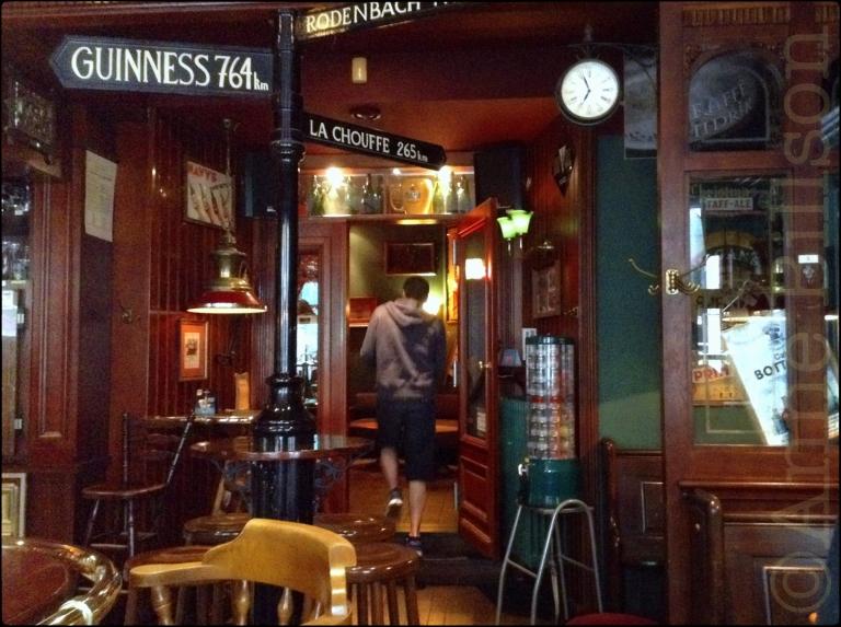 Guinness 764km: Café Botteltje, Louisastraat 19, Oostende.