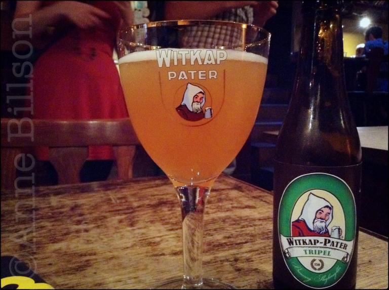 Witkap-Pater tripel (7.5%): Le Pantin, Elsensesteenweg 355, Elsene.