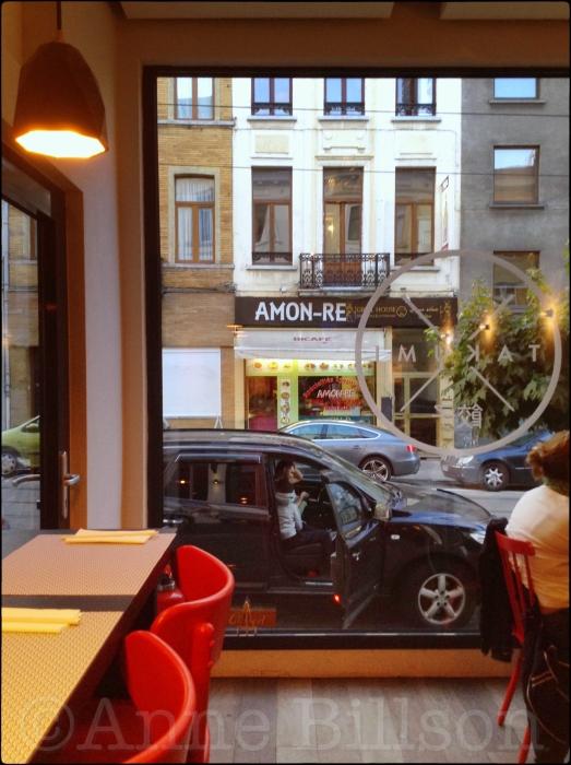 Amon-Re: van de binnenkant van Takumi, Lesbroussartstraat 8, Elsene.