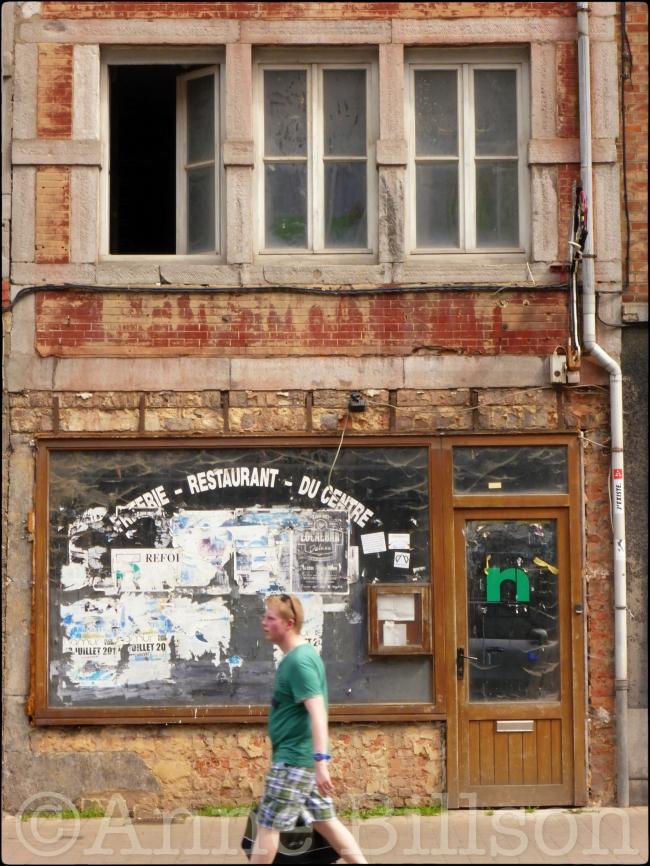 Restaurant du centre: Rue du Lombard, Namen.