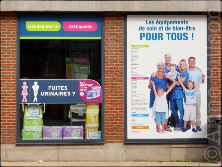 Fuites urinaires: Rue du Lombard, Namen.