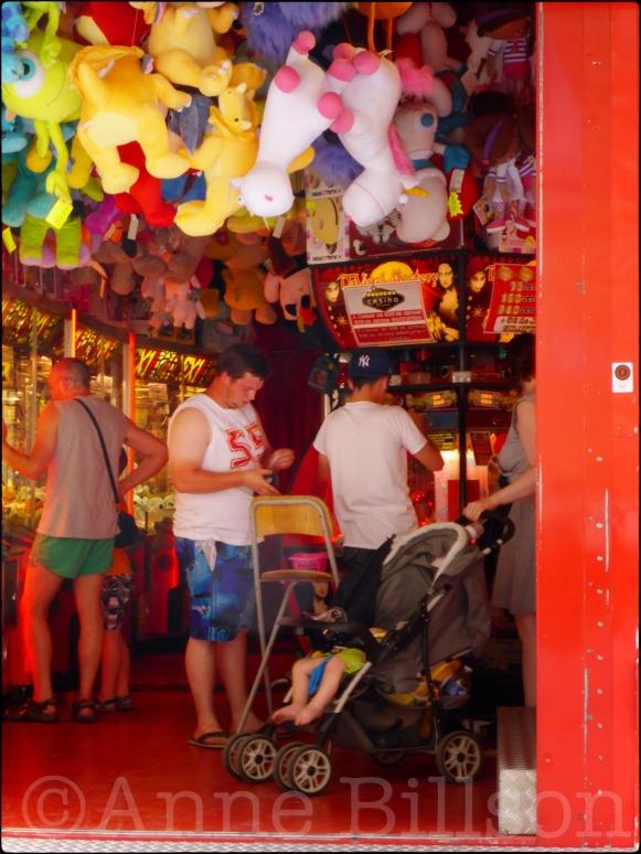 Casino: De kermis van Namen, Rue des Bourgeois, Namen.