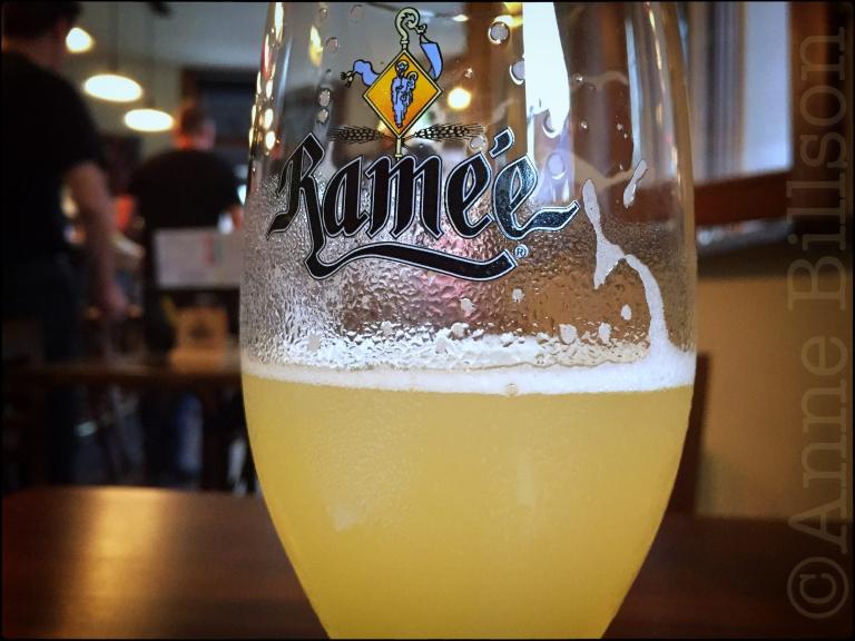 Ramée witbier (5%): Le Bistro des Restos, Edelknaapstraat 39, Elsene.