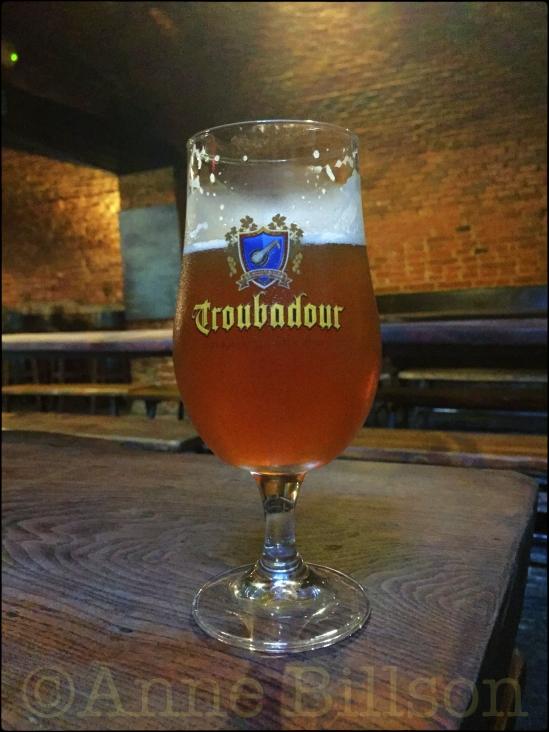Troubador Magma (9%): La Porte Noire, Cellebroersstraat 67, Brussel.