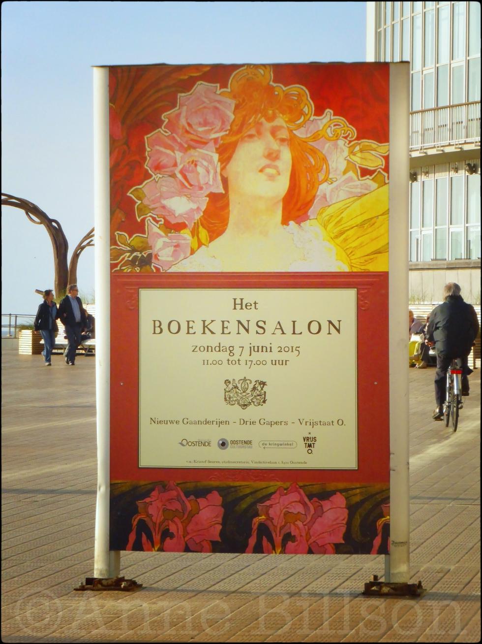 Het boekensalon: Albert I-promenade, Oostende.