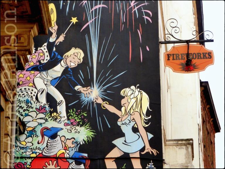 Olivier Rameau (door Dany): Eikstraat, Brussel.