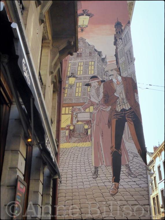 Victor Sackville (door Francis Carin): Kolenmarkt, Brussel.