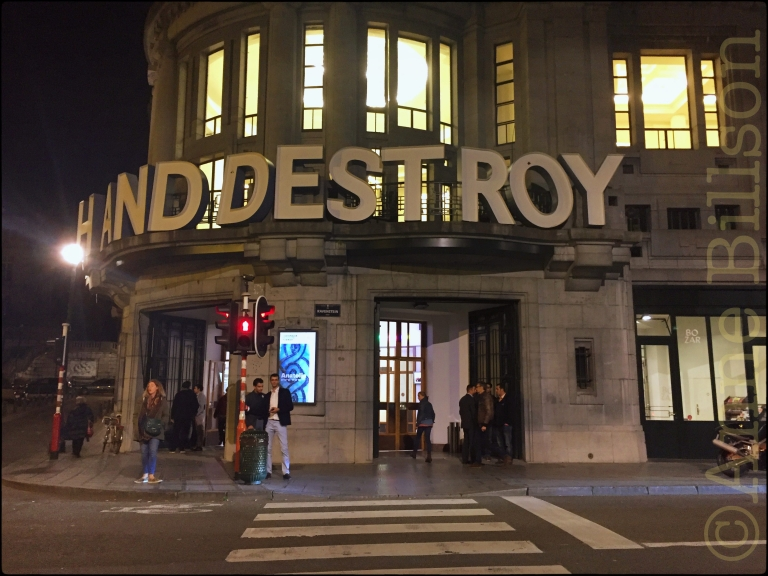 Destroy: Bozar, Ravensteinstraat, Brussel.