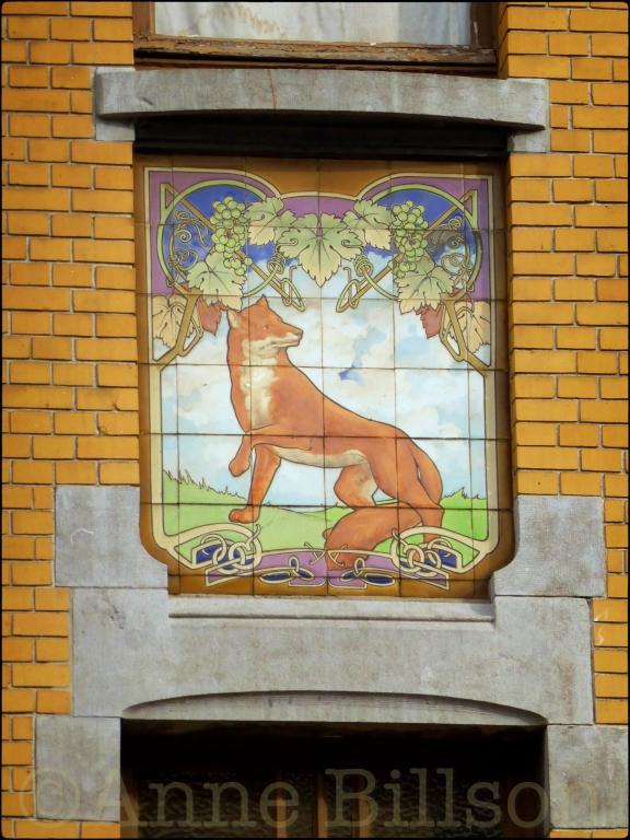 Vos huis: Prinses Clementinalaan, Gent.