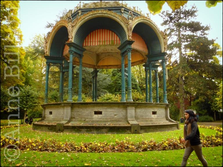 Muziektent: Citadelpark, Gent.
