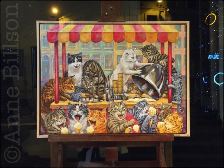 Katten en ijsjes: Grote Zavel, Brussel.