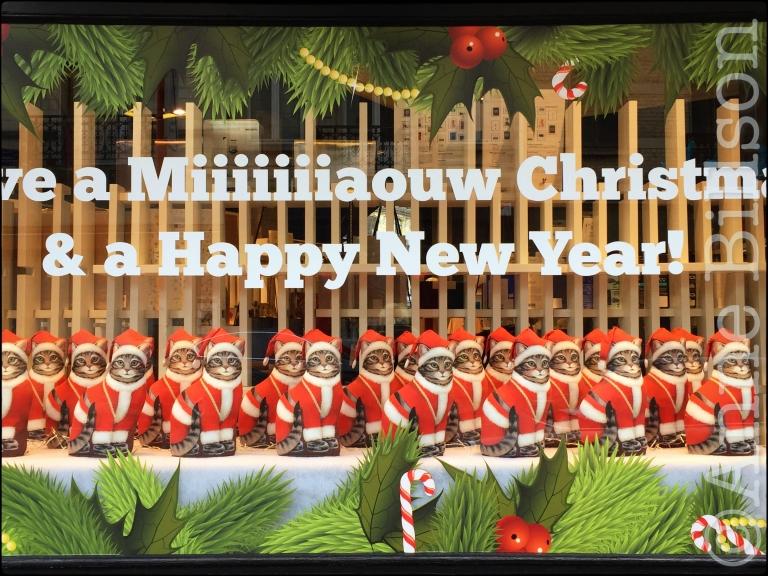 A Miiiiiiiaouw Christmas & a Happy New Year!: Waterleidingsstraat, Elsene.