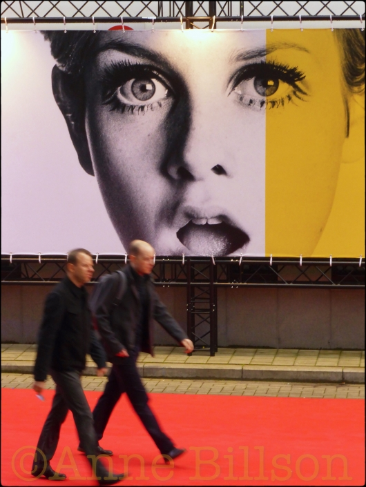 Twiggy: Film Fest Gent, Kinepolis bioscoop, Ter Platen, Gent.