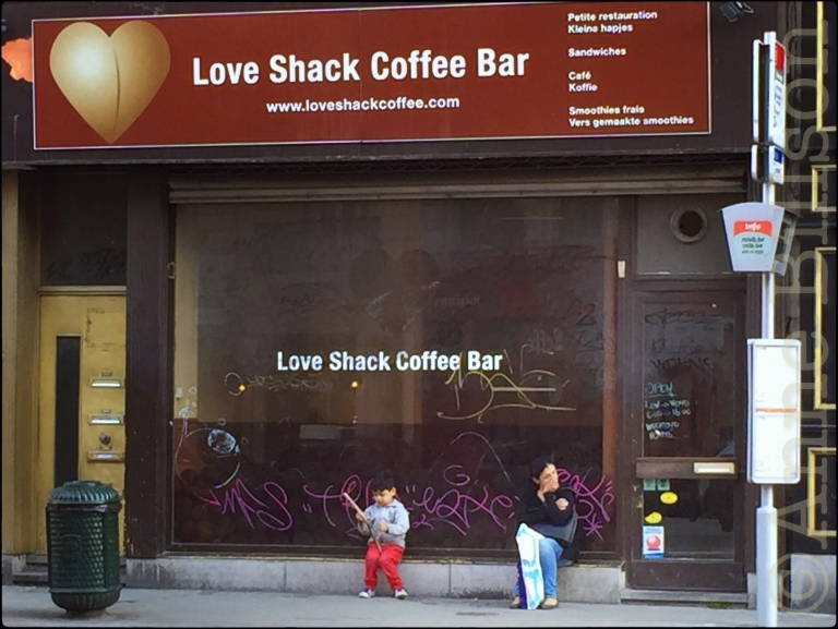 Love Shack: Ijzerenkruisstraat, Brussel.