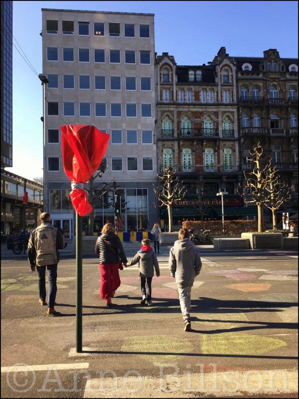 Anspachlaan: Brussel.