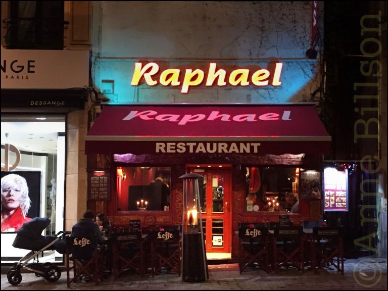 Raphael: Grasmarktstraat, Brussel.