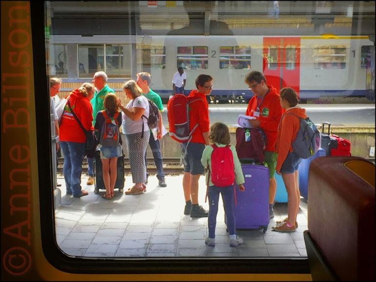 De trein naar Amsterdam: Brussel-Zuid, Fonsynlaan, Sint-Gillis.