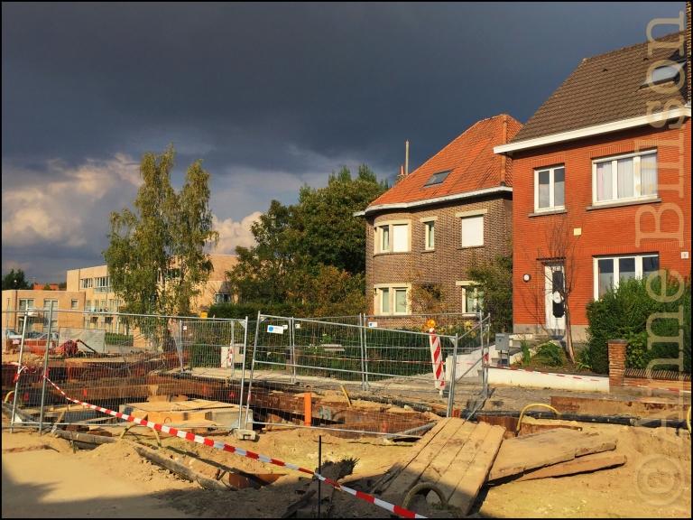 Brusselsesteenweg: Grimbergen.