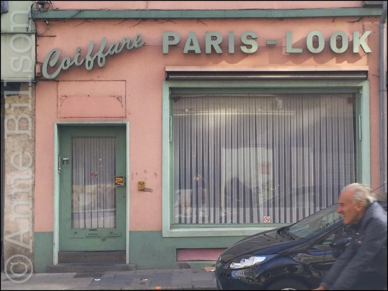 Paris-Look: Kortrijksepoortstraat, Gent.