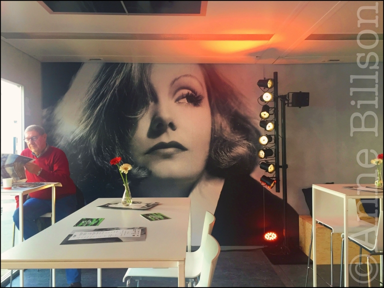 Garbo: Cafellini, Film Fest Gent, Ter Platen, Gent.