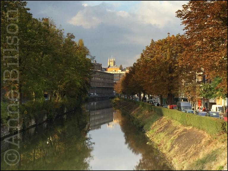 Uitzicht vanaf Kantienberg: Kantienberg, Gent.