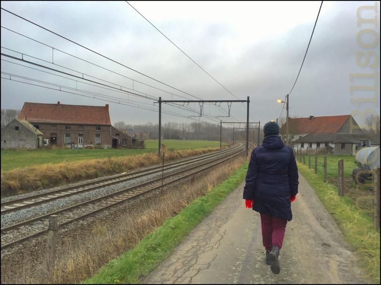 Spoorweglijn: Lessen, Henegouwen.